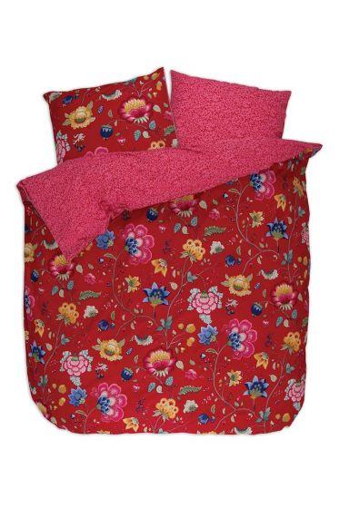 Bettbezug Floral Fantasy Rot