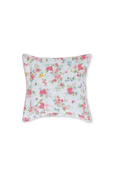 Zierkissen quadratisch ese Rose Bouquet Weiß