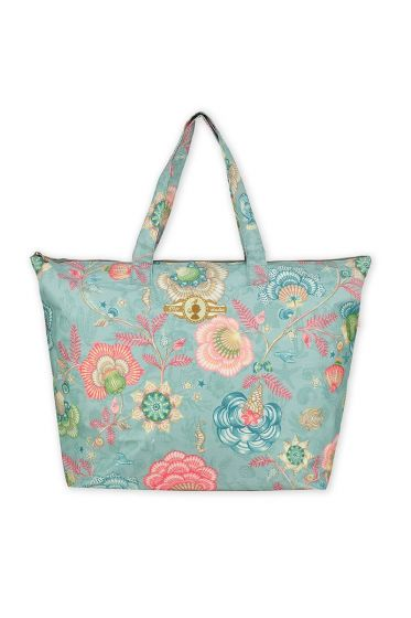 Beach Bag Shellebration Aqua