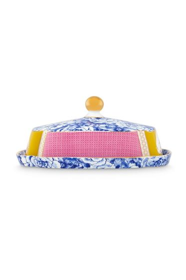 Royal Butter Dish multicoloured