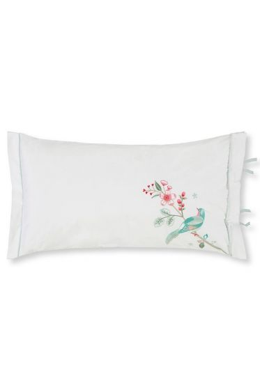 Cushion Good Morning Branch rectangle white
