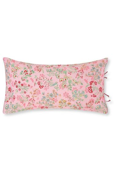 Cushion Jaipur Flower rectangle Pink