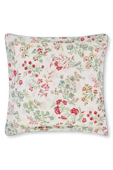 Cushion Jaipur Flower square Khaki
