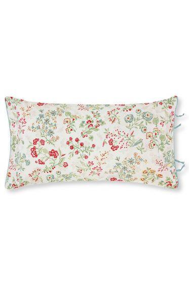 Cushion Jaipur Flower rectangle Khaki