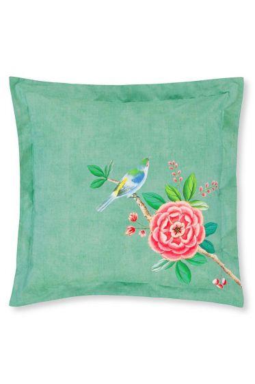 Cushion Good Morning square Green