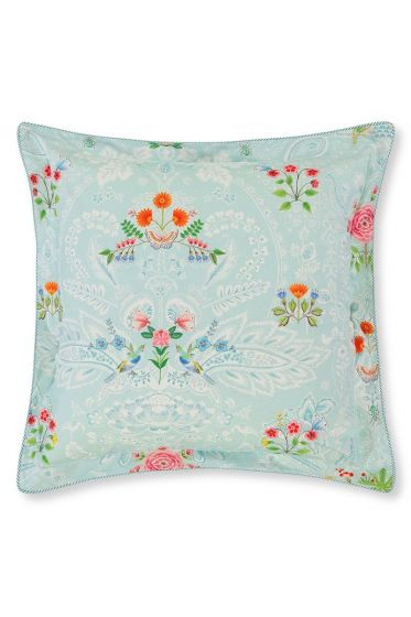 Cushion Yes Madam square Blue