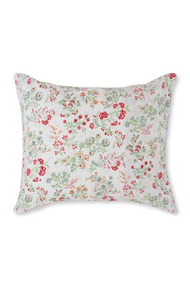 Pillowcase Jaipur Flower Khaki