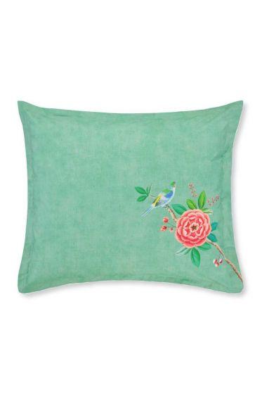 Pillowcase Good Morning Green