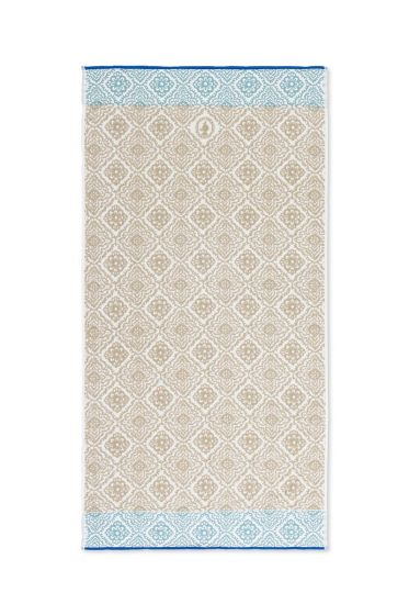 XL Bath towel Jacquard Check Khaki 70x140 cm