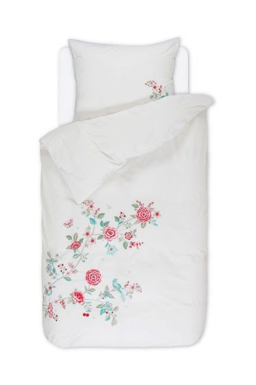 Duvet cover Good Morning Branch white