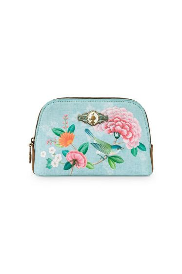 Necessaire klein Floral Good Morning Blau