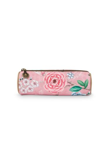Make-up etui klein Floral Good Morning roze