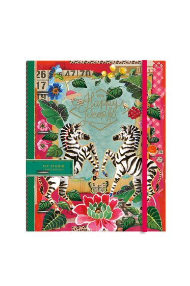 Telling Tales pink 4-ring A4 ring binder