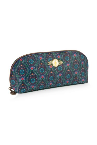 Dreieckiges Etui Moon Delight Blau