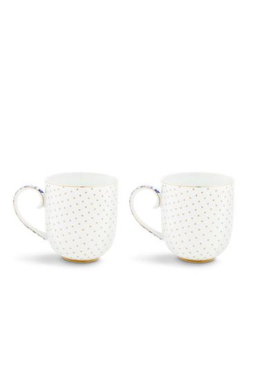Royal White Set of 2 mugs small