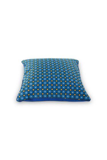 Sierkussen Latika blauw