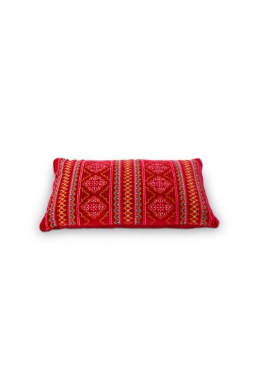 Coussin Darjeling Floral Rouge