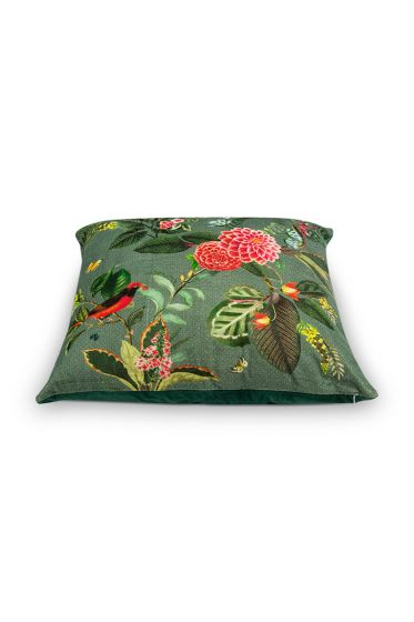 cushion-floris-green-square-flowers-home-51040326