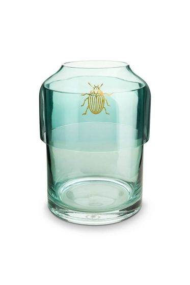 Stackable Glass Vase Spring to Life Green 21,3cm