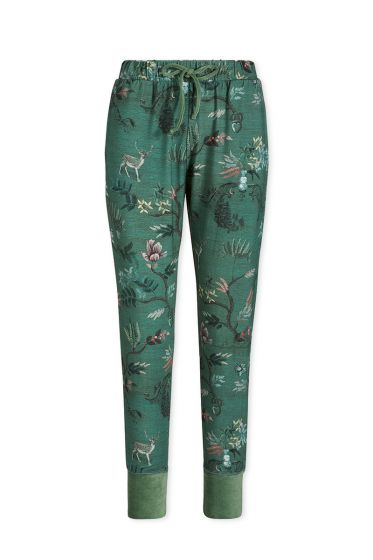 Trousers Long Woodland Nights Green