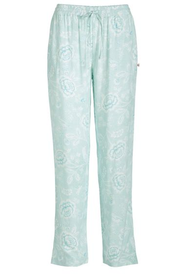 Long trousers Indian Roses blue