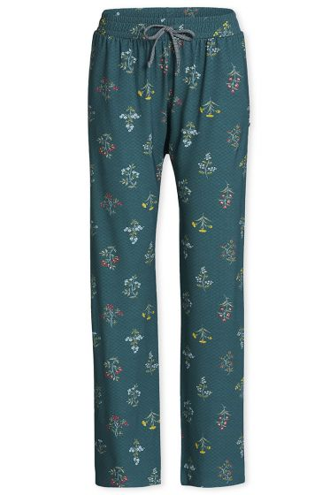 Lange broek Winter Wonderland bosgroen