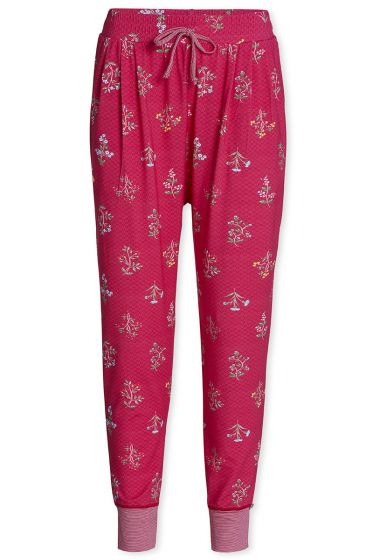 Trousers Long Winter Wonderland Cerise