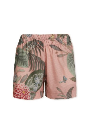 Trousers Short Floris Grande Pink