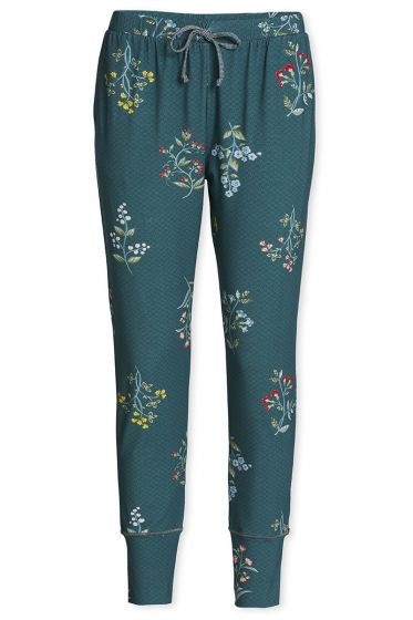 Lange broek Winter Wonderland XL bosgroen