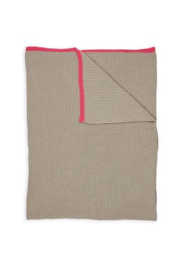 Plaids-khaki-rood-quilts-dekentje-130x170-throw-bonsoir-pip-studio-gebreid