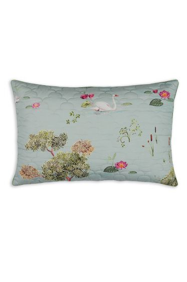 cushion-rectangle-quiled-little-swan-grey-baum-blumen-pip-studio