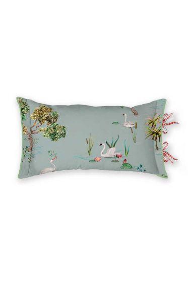 cushion-rectangle-little-swan-grey-beum-blumen-pip-studio