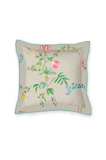 cushion-square-fleur-grandeur-khaki-bloemen-pip-studio