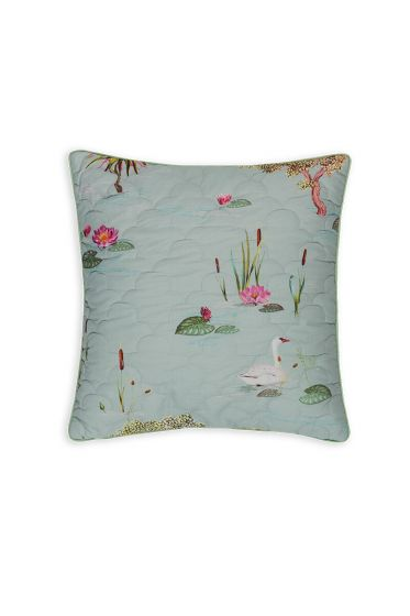 cushion-square-quiled-little-swan-grey-boom-bloemen-pip-studio