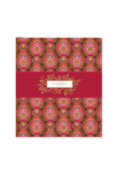 memory-book-a5-moon-delight-with-flower-print-red