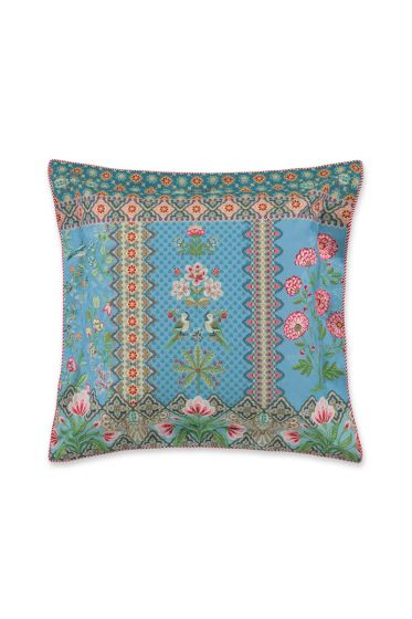 Cushion square Darjeeling Dark blue
