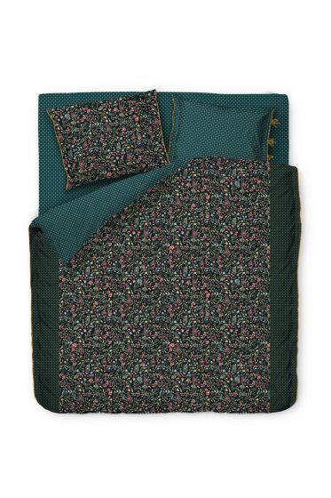 duvet-cover-midnight-garden-green-flowers-2-persons-pip-studio-205410