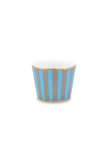 Love Birds Egg Cup Blue/Khaki