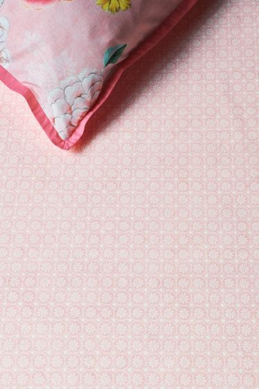 Fitted sheet Kamini Dusty Pink