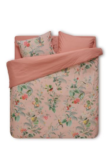 Duvet cover Floris Pink