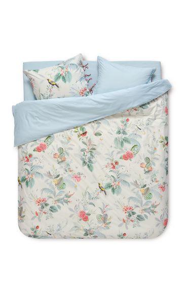 Bettbezug Floris Weiß
