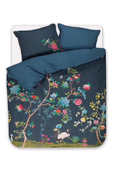 Duvet cover Good Morning Dark blue