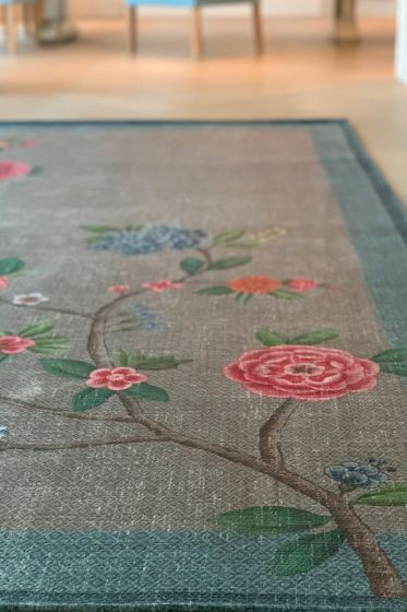 vintage-rectangular-good-morning-by-pip-carpets-in-khaki-blue-with-flower-details