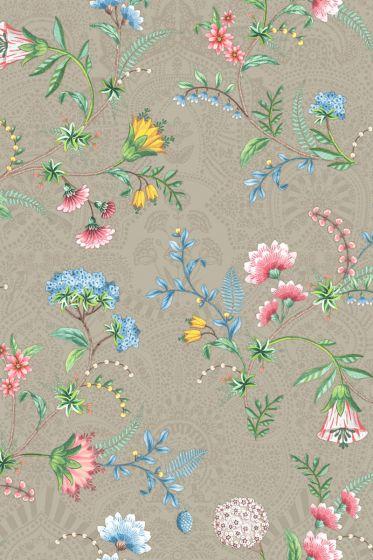 Pip Studio La Majorelle Wallpaper Khaki