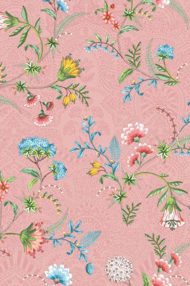 La Majorelle Wallpaper Pink