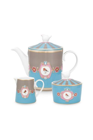 love-birds-tea-set-of-3-blue-khaki-pip-studio- 51020125