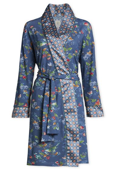 Kimono Birdy Blauw