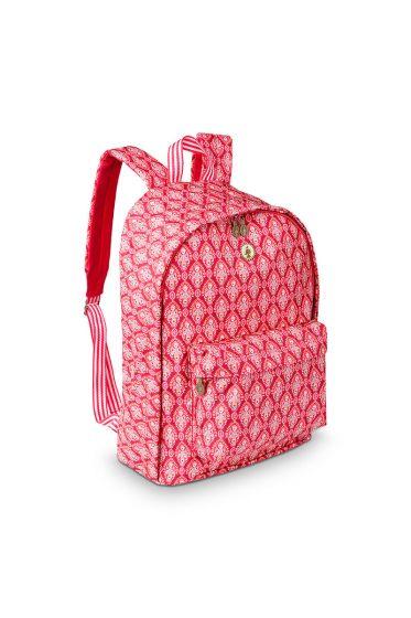 Backpack Indian Festival red