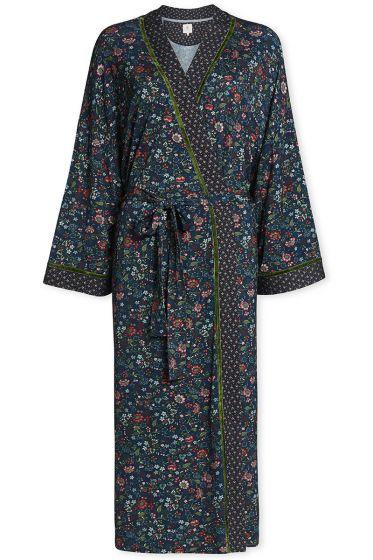 Kimono Oh My Blauw
