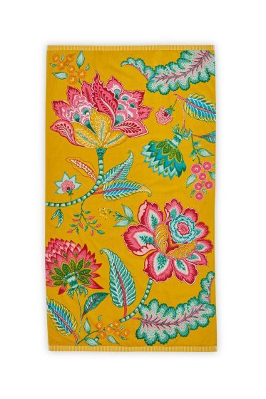 Beach Towel Jambo Yellow 100 x 180 cm